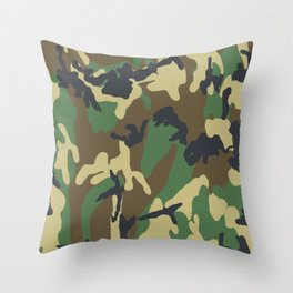 Camouflage Optic Throw Pillow