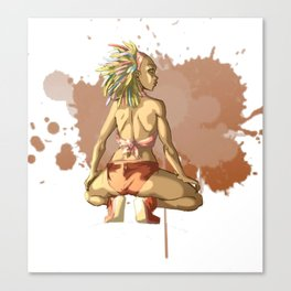 Reggaeton Girl Canvas Print