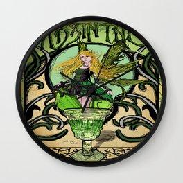 Vintage poster - Absinthe Wall Clock