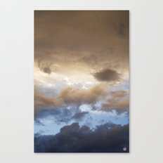 New Mexico sunset 2 (July 2014) Canvas Print