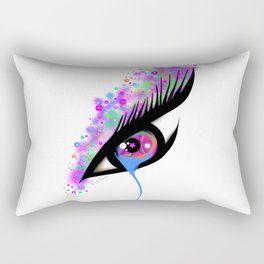 Teary Eye Rectangular Pillow