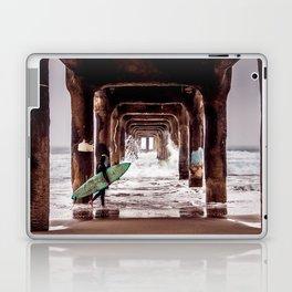Manhattan Beach Surfer Laptop & iPad Skin