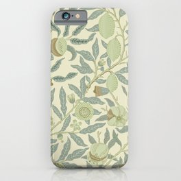 Fruit or Pomegranate by William Morris  iPhone Case