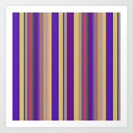 awning stripe Art Print