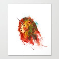 King of Imaginary Beasts Canvas Print