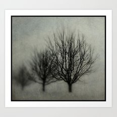 Winter's Solitude Art Print