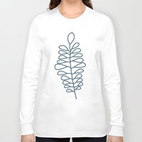 fern Long Sleeve T-shirts featuring Fern by Suzanne Designs