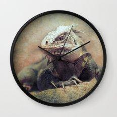 Big bad Lizard! Wall Clock