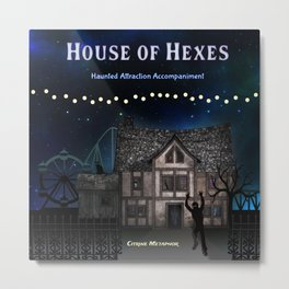 House of Hexes Cover Art Metal Print