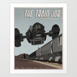 Train Job Art Print