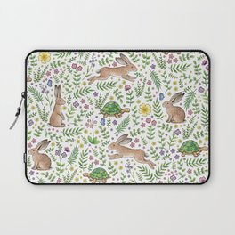 Spring Time Tortoises and Hares Laptop Sleeve