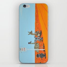 Aussie Outback Bus Stop iPhone Skin