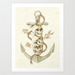 Three Missing Pirates Art Print
