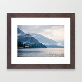 Beautiful landscape of Italy Framed Art Print
