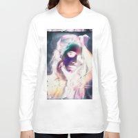 glitch Long Sleeve T-shirts featuring Glitch by Carli