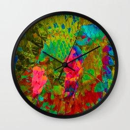 Partyin' in the garden... Wall Clock