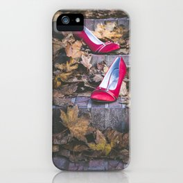 Red Shoes iPhone Case