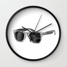 B&W Raybans - Drawing Wall Clock