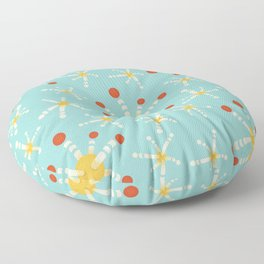Harmless Virus Fun Pattern Floor Pillow