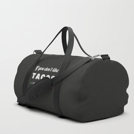 The Taco Lover Duffle Bag