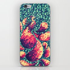 Peacock in the Garden iPhone & iPod Skin