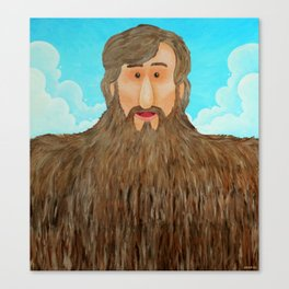 Jim's Amazing Beard Canvas Print
