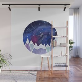 Playing in the Universe Wall Mural