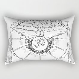 Come Holy Ghost Rectangular Pillow