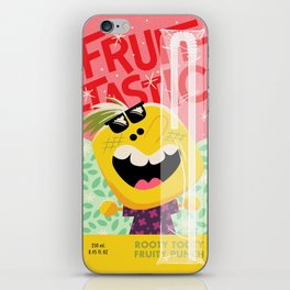 Rooty Tooty Fruity Punch iPhone Skin
