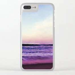 Purple Morning Haze Clear iPhone Case