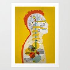 Head works Art Print