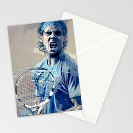 Rafa Nadal -Roger Federer Stationery Cards