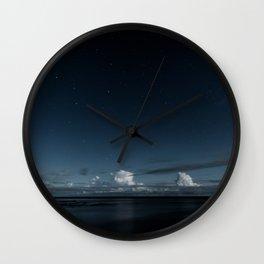 Night Coast Wall Clock