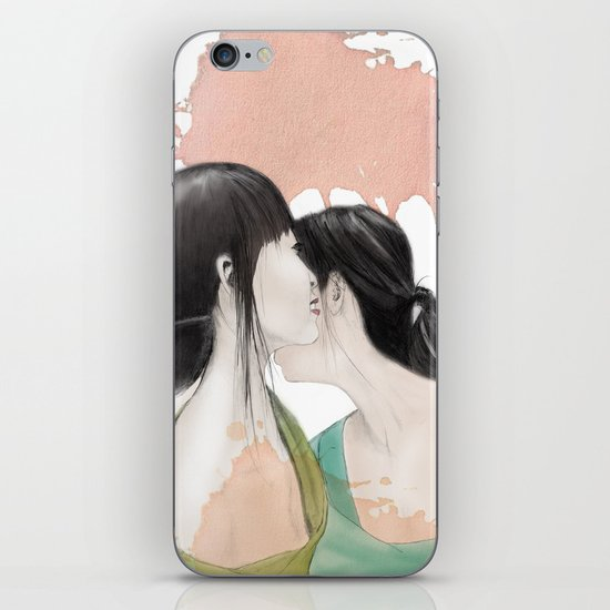 tell me a secret iPhone & iPod Skin