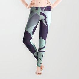 Sassy Sedge - cool colors Leggings