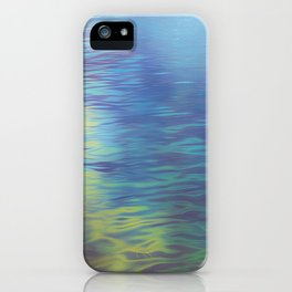 Mountain Lake Water Art iPhone Case