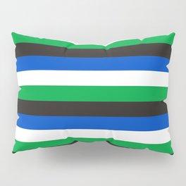 Torres Strait Islander flag stripes Pillow Sham