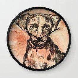 Hershy Pup Wall Clock