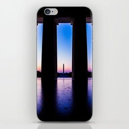 The View From Abe's Window iPhone Skin