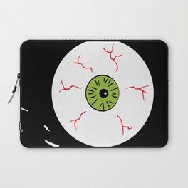 Just the Way Eye Roll Laptop Sleeve