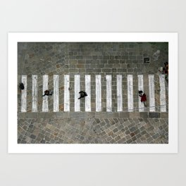Bologna Streets  Art Print
