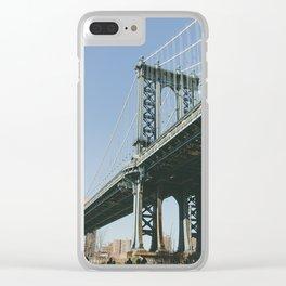 Down Under the Bridge Clear iPhone Case