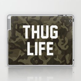 Thug Life - camouflage version Laptop & iPad Skin