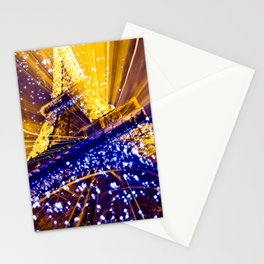 Supernova Eiffel Stationery Cards