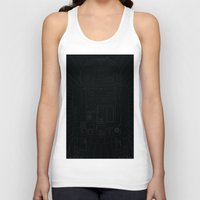 r2d2 Tank Tops featuring R2D2  by ScoobiRoo