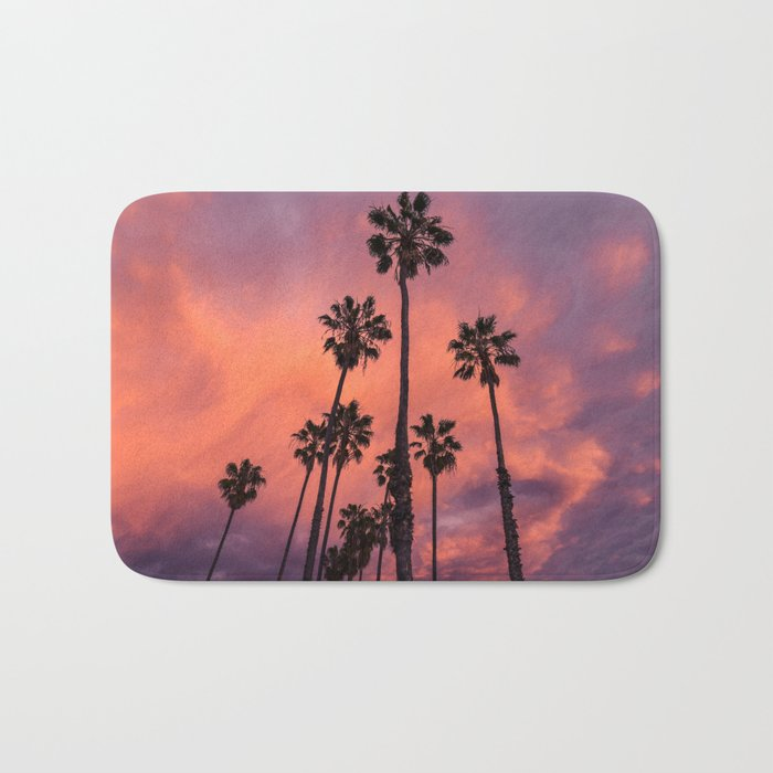 tropical vibes Bath Mat