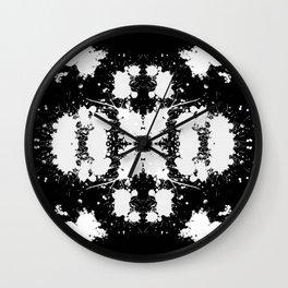 Rorschach 7 Wall Clock
