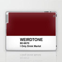 I Only Drink Merlot Laptop & iPad Skin