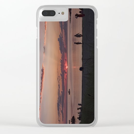 Sunset at the Beach Clear iPhone Case
