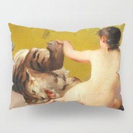 "Luis Ricardo Falero ""Playing with the Tiger"" Pillow Sham"